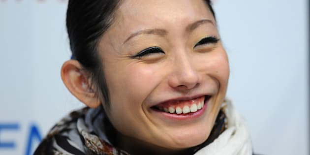 ZAGREB, CROATIA - DECEMBER 06:  Miki Ando of Japan talks to the media in a press conference during Day Two of the ISU 46th Golden Spin of Zagreb at the Dom Sportova on December 6, 2013 in Zagreb, Croatia.  (Photo by Mike Hewitt/Getty Images)