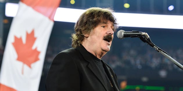 TORONTO, ON - NOVEMBER 25:  Burton Cummings performs during the pre-show at the CFL's 100th Grey Cup Championship at the Rogers Centre on November 25, 2012 in Toronto, Canada.  (Photo by George Pimentel/WireImage)
