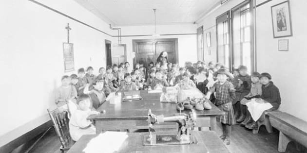 "<b>Title / Titre :</b> Class of Mi'kmaq (Micmac) girls taken in the Shubenacadie Residential School, Shubenacadie, Nova Scotia, 1929 /   Une classe de fillettes of Mi'kmaq (Micmaques) photographiées au pensionnat de Shubenacadie, Shubenacadie (Nouvelle-Écosse), 1929  <b>Creator(s) / Créateur(s) : </b>Unknown / Inconnu  <b>Date(s) : </b>1929  <b>Reference No. / Numéro de référence : </b>MIKAN 3193832  <a href=""http://collectionscanada.gc.ca/ourl/res.php?url_ver=Z39.88-2004&url_tim=2011-06-30T19%3A35%3A51Z&url_ctx_fmt=info%3Aofi%2Ffmt%3Akev%3Amtx%3Actx&rft_dat=3193832&rfr_id=info%3Asid%2Fcollectionscanada.gc.ca%3Apam"" rel=""nofollow"">collectionscanada.gc.ca/ourl/res.php?url_ver=Z39.88-2004&...</a> <a href=""http://collectionscanada.gc.ca/ourl/res.php?url_ver=Z39.88-2004&url_tim=2011-06-30T19%3A36%3A05Z&url_ctx_fmt=info%3Aofi%2Ffmt%3Akev%3Amtx%3Actx&rft_dat=3625038&rfr_id=info%3Asid%2Fcollectionscanada.gc.ca%3Apam"" rel=""nofollow"">collectionscanada.gc.ca/ourl/res.php?url_ver=Z39.88-2004&...</a>  <b>Location / Lieu : </b>Shubenacadie, Nova Scotia / Shubenacadie, Nouvelle-Écosse  <b>Credit / Mention de source : </b> Library and Archives Canada, PA-185530 /  Bibliothèque et Archives Canada, PA-185530"