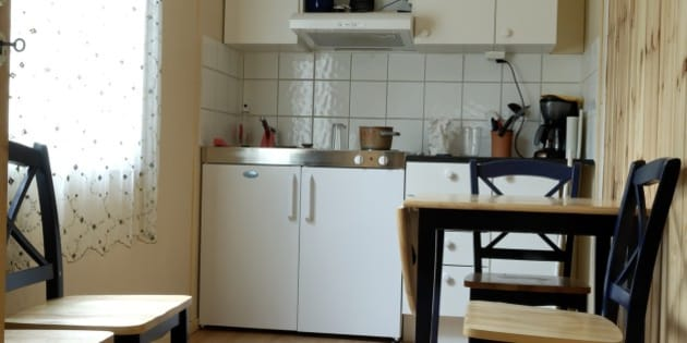 The kitchen in my appartment in Skien, Norway.