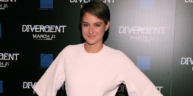 ATLANTA, GA - MARCH 03:  Shailene Woodley the 'Divergent' screening at Regal Atlantic Station on March 3, 2014 in Atlanta, Georgia.  (Photo by Marcus Ingram/WireImage)
