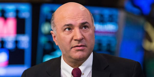 NEW YORK, NY - MARCH 04: Kevin O'Leary, an investor on the television show 'Shark Tank' is seen on the floor of the New York Stock Exchange on the afternoon of March 4, 2014 in New York City. Stocks rebounded sharply today after dropping yesterday, on fears of a conflict between Russia and Ukraine.  (Photo by Andrew Burton/Getty Images)