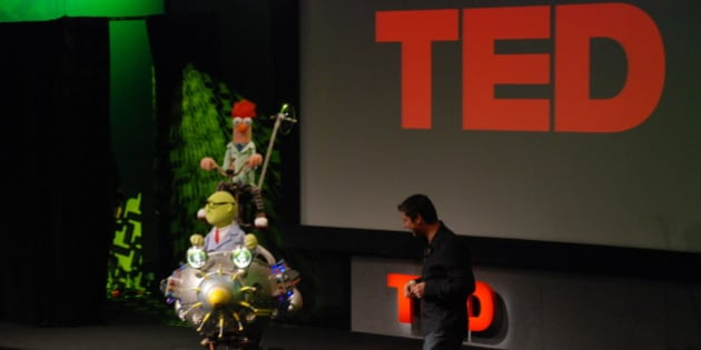 Beeker makes it big at TED
