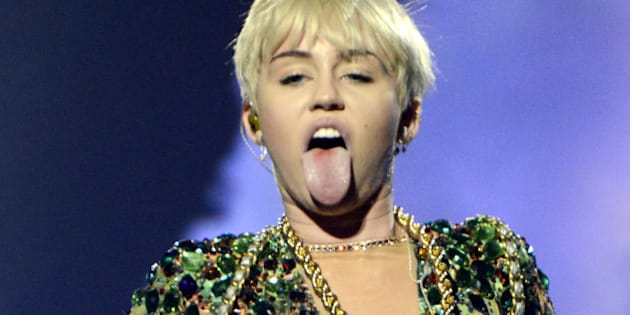 Houston Tx March 16 Miley Cyrus Performs Part Of Her Bangerz Tour At