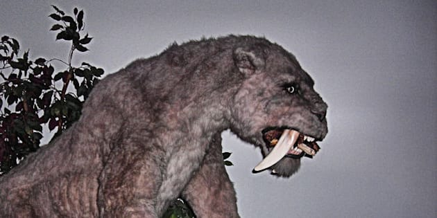 Walk With Beasts exhibition, Horniman Museum, London.
