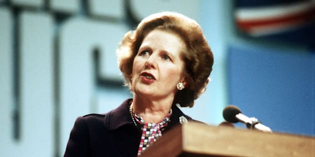 Embargoed to 0001 Monday March 3 File photo dated 12/10/1984 of Prime Minister Margaret Thatcher.