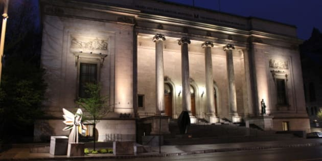 The Musee-des-Beaux-Arts (Museum of Fine Arts) in Montreal. Fittingly located in a Beaux Arts-styled building.