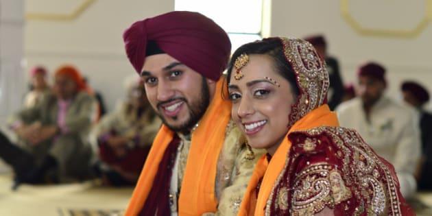 sikh girl dating a white guy