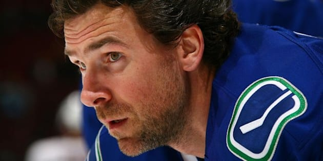 VANCOUVER, BC - NOVEMBER 14:  Trevor Linden #16 of the Vancouver Canucks skates during the warm-up before their game against the Edmonton Oilers at General Motors Place on November 14, 2007 in Vancouver, Canada.  The Oilers won 1-0.  (Photo by Jeff Vinnick/NHLI via Getty Images)