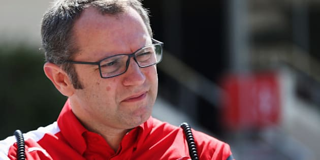 BAHRAIN, BAHRAIN - MARCH 02:  Ferrari Team Principal Stefano Domenicali is seen in the paddock during day four of Formula One Winter Testing at the Bahrain International Circuit on March 2, 2014 in Bahrain, Bahrain.  (Photo by Mark Thompson/Getty Images)