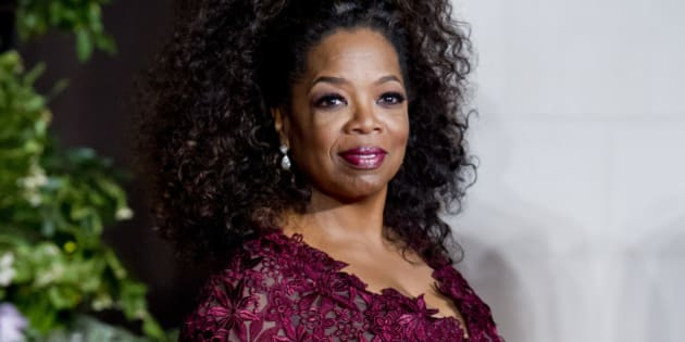 Oprah Winfrey arriving at the EE British Academy Film Awards After Party, held at the Grosvenor Hotel in centralLondon