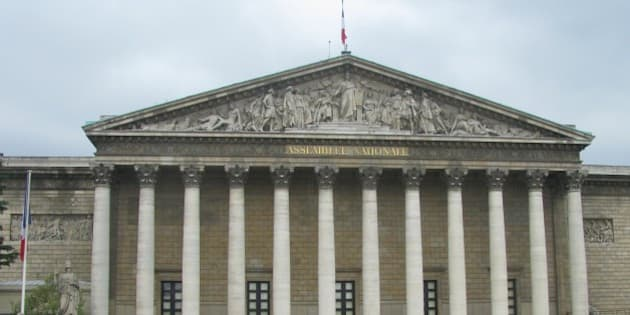 Assemblee Nationale National Assembly) is the Lower House of the French Parliament, Paris, France. Photographed on 3 July 2010.
