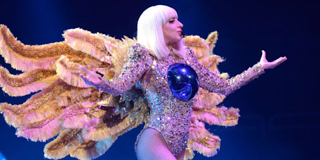 PITTSBURGH, PA - MAY 08:  (Exclusive Coverage) Lady Gaga performs onstage during her 'artRave: The Artpop Ball' at Consol Energy Center on May 8, 2014 in Pittsburgh City.  (Photo by Kevin Mazur/WireImage)