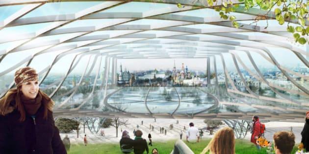 14 Projets Montrant L Architecture Du Futur Le Huffington Post