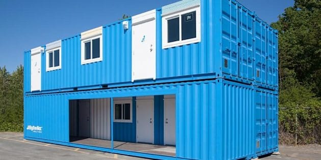 Container Rooms luxury' shipping container rooms unveiled for b.c. lng workers