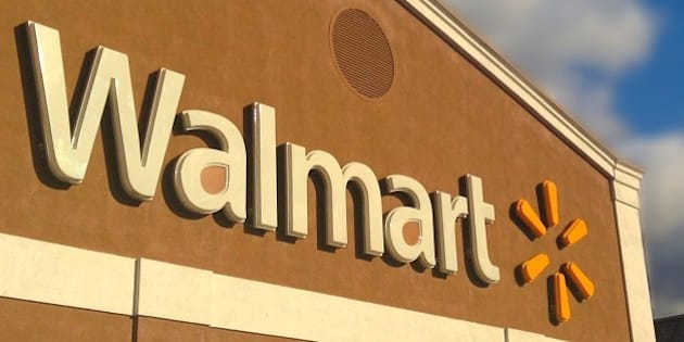 Walmart Store Building Facade Logo Pics by Mike Mozart of TheToyChannel and JeepersMedia on YouTube #Walmart #WalmartStore #WalmartSign