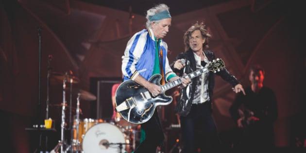 """The Rolling Stones spilte på Telenor Arena mandag 26 mai, 2014. Les anmeldelsen På <a rel=""""nofollow"""">p3.no/musikk</a> - Foto: Rashid Akrim / NRK P3"""