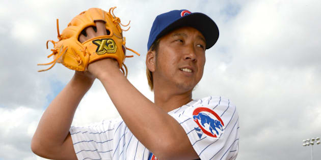 SCOTTSDALE, AZ - FEBRUARY 21: Kyuji Fujikawa #11 of the Chicago Cubs poses during a portrait session on February 21, 2013 in Scottsdale, Arizona. (Photo by Robert Binder/MLBPA via Getty Images)