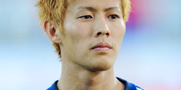 Japan's midfielder Yoichiro Kakitani is pictured ahead of a friendly football match between Serbia and Japan in Novi Sad on October 11, 2013.   AFP PHOTO / ANDREJ ISAKOVIC        (Photo credit should read ANDREJ ISAKOVIC/AFP/Getty Images)