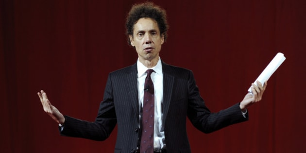 Author Malcolm Gladwell speaks at the 2011 World Business Forum in New York, U.S., on Wednesday, Oct. 5, 2011. The World Business Forum is an annual global business summit for the executive community, where global icons debate the most pressing issues of the day. Photographer: Peter Foley/Bloomberg via Getty Images