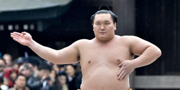 お相撲さんの白鵬