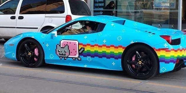 Nyan Cat Ferrari For Sale
