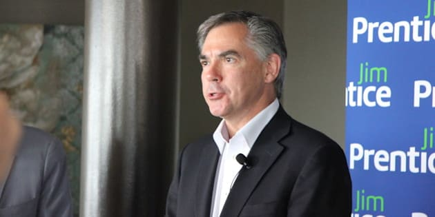 Jim Prentice, candidate for the leadership of the Progressive Conservative Association of Alberta (on June 3, 2014)