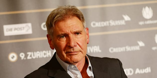 ZURICH, SWITZERLAND - OCTOBER 04:  Actor Harrison Ford attends the Golden Eye For Lifetime Achievement press conference on October 4, 2013 in Zurich, Switzerland.  (Photo by Vittorio Zunino Celotto/Getty Images)