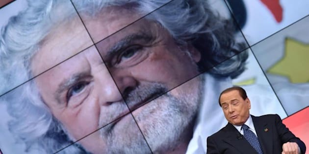 """Beppe Grillo contro Silvio Berlusconi: """"#Silviostaisereno, in galera sarà una rimpatriata"""""""