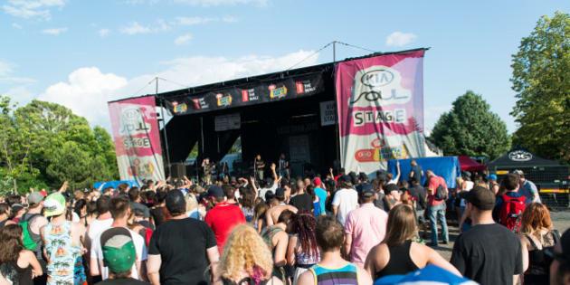 1c8031ac5b Vans Warped Tour 2014  Montréal s éclate sur fond de punk rock (PHOTOS)