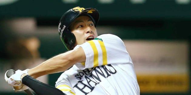 「野球ソフトバンク柳田 無料写真」の画像検索結果