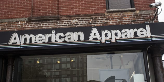 NEW YORK, NY - JUNE 19:  An American Apparel store is seen on June 19, 2014 in New York City. American Apparel's board has voted to remove the company's controversial CEO, Dov Charney.  (Photo by Andrew Burton/Getty Images)