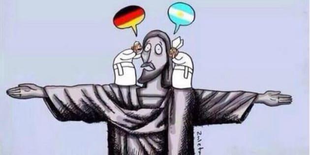 """Monsignor Georg Gaenswei: il segretario di Benedetto XVI fa le """"condoglianze"""" per la finale dei Mondiali 2014 (FOTO)"""