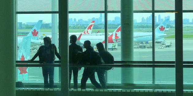 At Toronto's Pearson International Airport