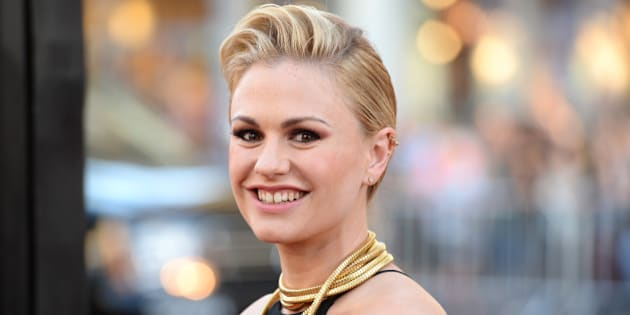 HOLLYWOOD, CA - JUNE 17:  Actress Anna Paquin attends the premiere of HBO's 'True Blood' season 7 and final season at TCL Chinese Theatre on June 17, 2014 in Hollywood, California.  (Photo by Jason Merritt/Getty Images)