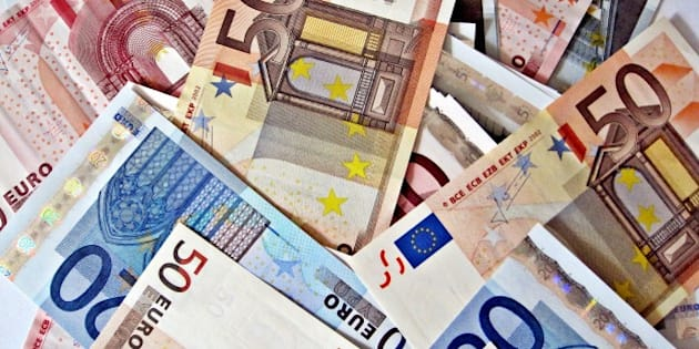 """A large pile of Euro currency   Like much of our work, we have put all these images in the public domain. Feel free to use them but please credit out site as the source if you do: <a href=""""http://TaxRebate.org.uk"""" rel=""""nofollow"""">TaxRebate.org.uk</a>"""