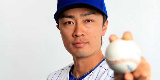 TEMPE, AZ - FEBRUARY 24:  Pitcher Tsuyoshi Wada #67 poses during Chicago Cubs photo day on February 24, 2014 in Tempe, Arizona.  (Photo by Jamie Squire/Getty Images)