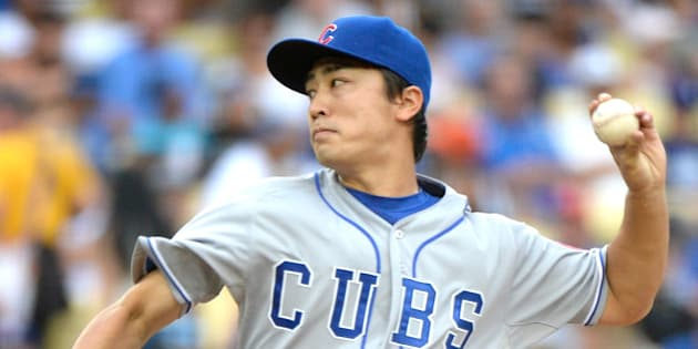 LOS ANGELES, CA - AUGUST 02:  Tsuyoshi Wada #67 of the Chicago Cubs pitches during the first inning against the Los Angeles Dodgers at Dodger Stadium on August 2, 2014 in Los Angeles, California.  (Photo by Harry How/Getty Images)