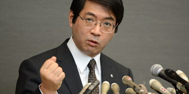 Yoshiki Sasai, supervisor of 30-year-old scientist Haruko Obokata of Riken Institute, answers questions during a press conference in Tokyo on April 16, 2014. Obokata was feted as a modern-day Marie Curie after unveiling research that showed a simple way to re-programme adult cells to become a kind of stem cell, a breakthrough that could provide a ready supply of the base material for transplant tissue. But Riken has since distanced itself from the study, which was published in the British journal Nature, after it came to light that some of Obokata's data was faulty.    AFP PHOTO/Toru YAMANAKA        (Photo credit should read TORU YAMANAKA/AFP/Getty Images)