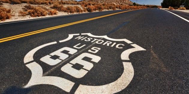 July 27, 2013 - Gettin' my kicks on Route 66 - I love spontaneous road trips.