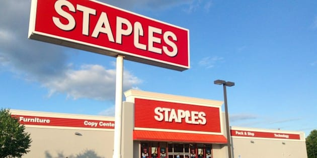 Staples, Office Supplies, Branford, CT. 8/2014 by Mike Mozart of TheToyChannel and JeepersMedia on YouTube
