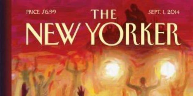 Michael Brown, il New Yorker dedica una potente copertina a Ferguson. Ombre sul passato dell'agente Wilson