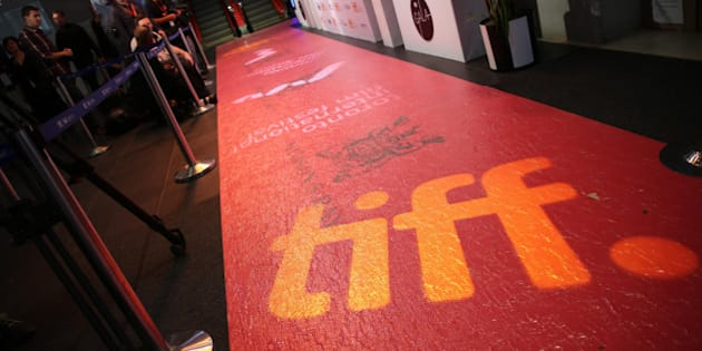 TORONTO, ON -  SEPTEMBER 3:  The red carpet at this years TIFF gala at the TIFF Bell Lightbox Reitman Square.        (Vince Talotta/Toronto Star via Getty Images)