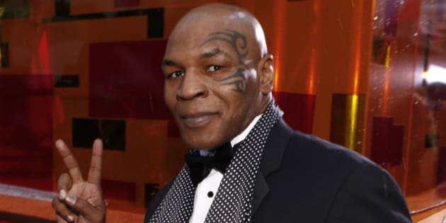 67th ANNUAL GOLDEN GLOBE AWARDS -- Pictured: MikeTyson arrive at the 67th Annual Golden Globe Awards held at the Beverly Hilton Hotel on January 17, 2010  (Photo by Trae Patton/NBC/NBCU Photo Bank via Getty Images)