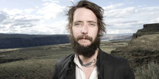 SEATTLE, UNITED STATES - MAY 29: Ben Bridwell of Band of Horses poses for a portrait backstage at the Sasquatch Music Festival on 29th May 2010 in Seattle, Washington, United States. (Photo by Steven Dewall/Redferns)
