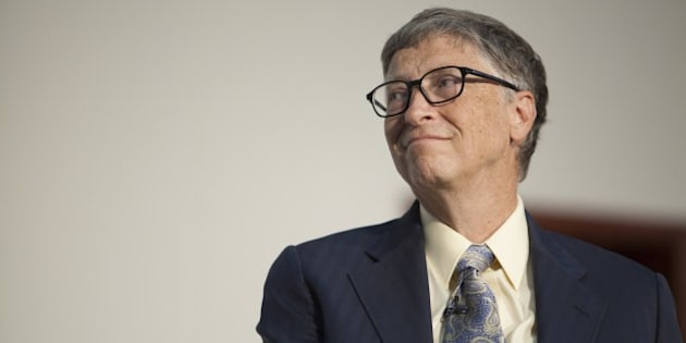 US businessman, inventor and philanthropist Bill Gates, co-chair of Bill and Melinda Gates Foundation, delivers a speech after receiving an honourary degree during a ceremony at Addis Ababa University in Addis Ababa, Ethiopia, on July 24, 2014. Bill Gates was awarded with an honorary doctorate degree from the University after his long-lasting support of development in Ethiopia. Health and agriculture development are key if African countries are to overcome poverty and grow, US software billionaire Bill Gates as he received an honourary degree in Ethiopia. AFP PHOTO / ZACHARIAS ABUBEKER        (Photo credit should read ZACHARIAS ABUBEKER/AFP/Getty Images)