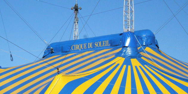 The Cirque Du Soleil is here in Montreal!
