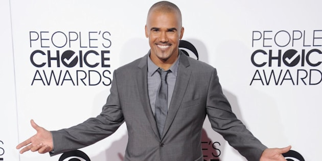 LOS ANGELES, CA - JANUARY 08: Actor Shemar Moore arrives at the 40th Annual People's Choice Awards at Nokia Theatre LA Live on January 8, 2014 in Los Angeles, California.  (Photo by Gregg DeGuire/WireImage)