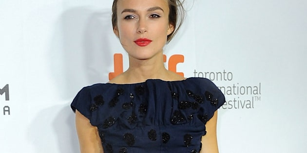 TORONTO, ON - SEPTEMBER 10:  Actress Keira Knightley attends the 'Laggies' premiere during the 2014 Toronto International Film Festival at Roy Thomson Hall on September 10, 2014 in Toronto, Canada.  (Photo by Angela Weiss/WireImage)