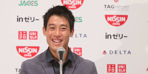 NARITA, JAPAN - SEPTEMBER 13:  US Open 2014 runner-up Kei Nishikori speaks during the press conference upon arrival from the US Open at ANA Crown Plaza Narita on September 13, 2014 in Narita, Japan.  (Photo by Ken Ishii/Getty Images)